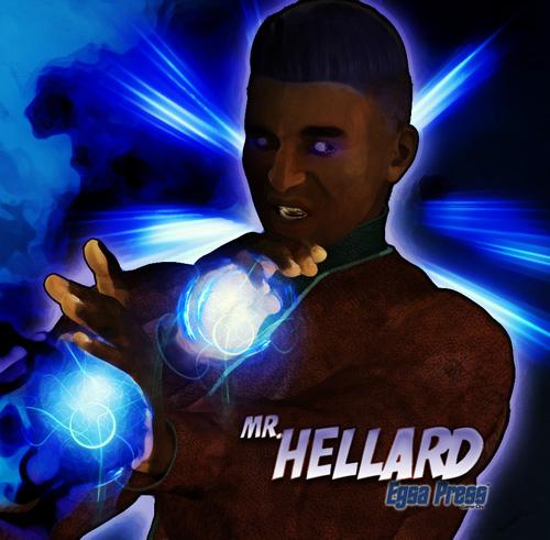 Mr. Hellard mini poster