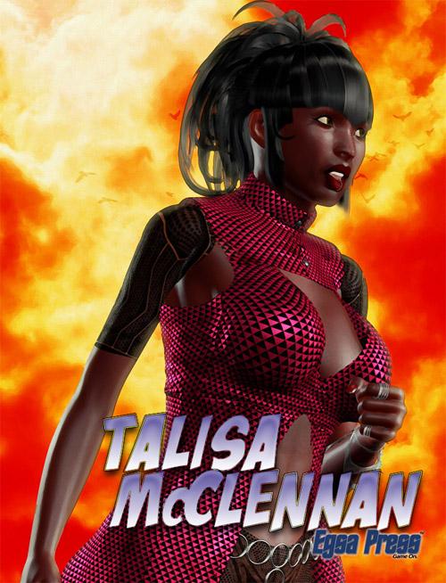 Talisa McClennan mini poster